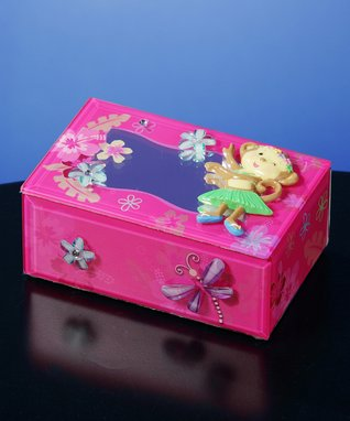 Hula Monkey Musical Box