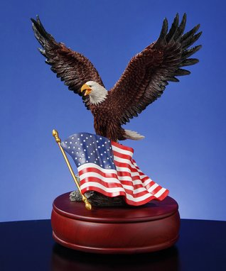 American Eagle Musical Figurine