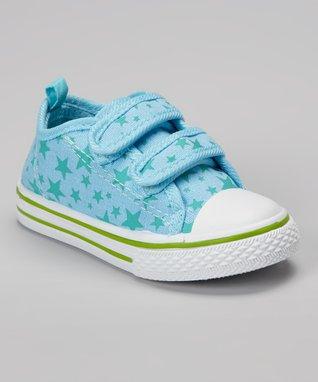 Chatties Light Blue & Pink Panda Slip-On Sneaker