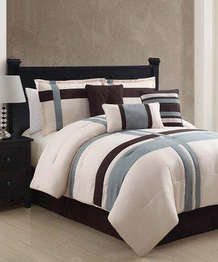 Ivory Berkley Comforter Set