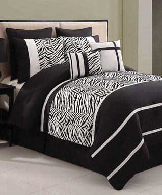 Black & White Montero Comforter Set