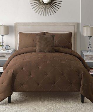 Black & White Shadow Vine Comforter Set