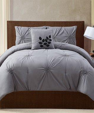 Brown Zebra Laken Comforter Set