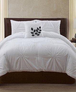 Gray London Comforter Set