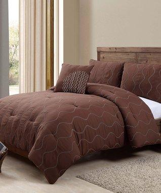 White London Comforter Set