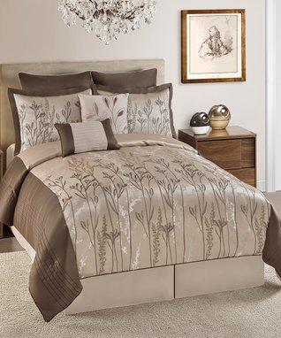 White Nora Comforter Set