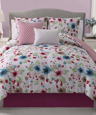 Chocolate & Taupe Norwood Comforter Set
