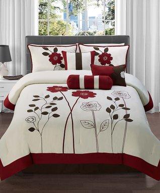 Teal Covington Comforter Set