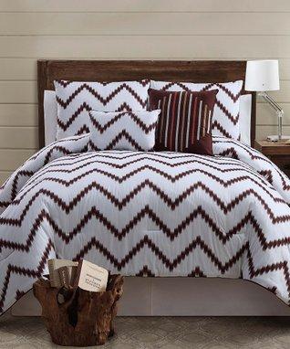Orange Sheridan Comforter Set