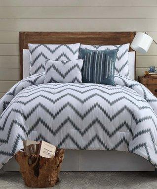 Gold Zigfield Comforter Set