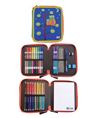 Tree Owls Kids Art Set