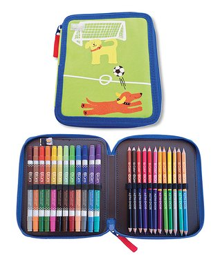 Soccer Dogs Art Set
