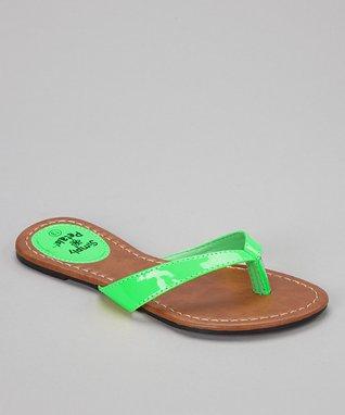 Emerald Cross-Strap Sandal