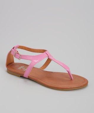 Teal Rhinestone Strap Sandal