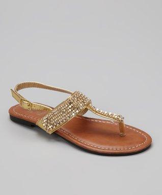 Pewter Shimmer Apple Sandal