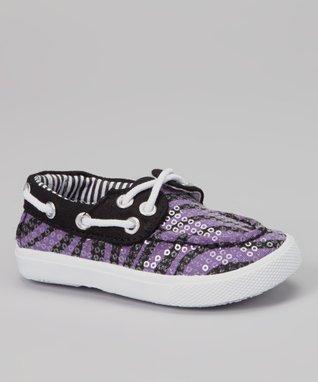 Wacky Willie Gray & Black Canvas Slip-On Sneaker