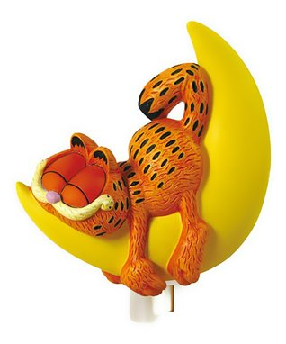 'Happy Birthday' Garfield Figurine