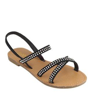 Silver Buckle Knee-High Gladiator Sandal
