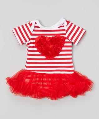 Pink Bow Jar Ruffle Tank - Infant, Toddler & Girls