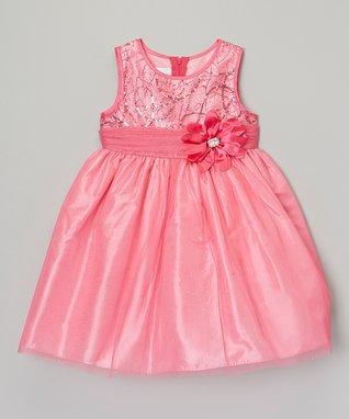 Purple Stripe Ruffle Maxi Dress - Girls