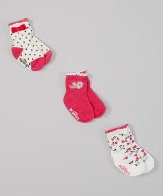 Pink Love Nature Socks Set