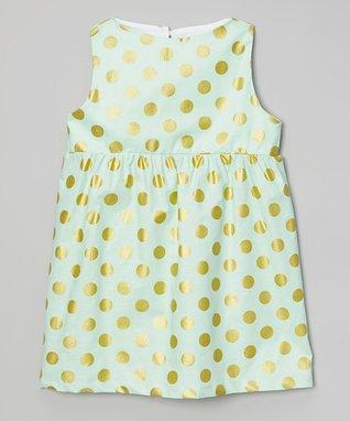 Mint Jubilee High-Waist Dress - Toddler & Girls