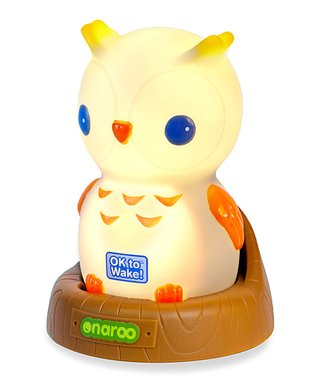 Night Owl Ok to Wake! Portable Night Light