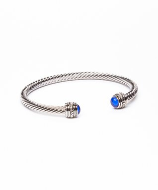 Clear & Gold Baguette Bracelet