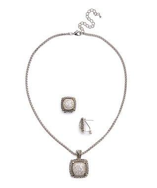 Sapphire & Silver Twist Dome Cuff