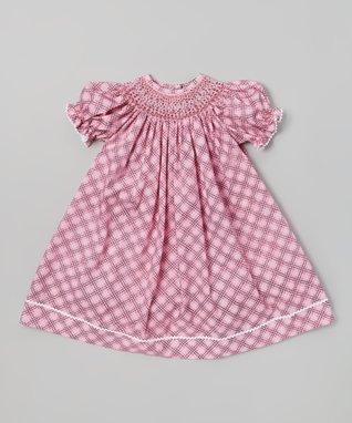 Vive La Fête Pink Bunnies & Chicks Smocked Top & Bloomers - Infant