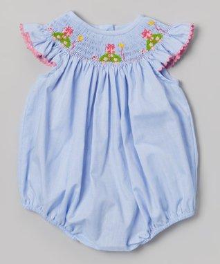 Vive La Fête White Smocked Excavator Tee & Shorts - Infant, Toddler & Boys
