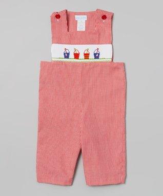 Vive La Fête Green Undersea Smocked Tie Top & Shorts - Infant, Toddler & Girls