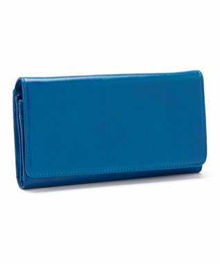 Latico Leather Blue Kaden Wallet