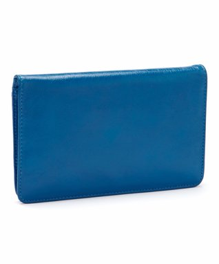 Latico Leather Blue Joelle Wallet