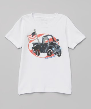 White Ole Time Pride Truck Tee - Infant, Toddler & Boys