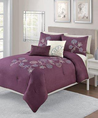 Blue Athena Cotton Comforter Set