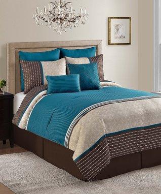 Aqua Seville Comforter Set