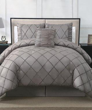 Chocolate Santiago Comforter Set