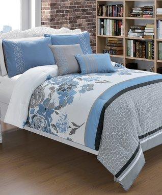 Platinum Santiago Comforter Set