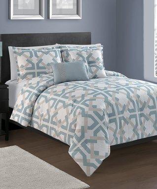 Tabitha Printed Cotton Comforter Set