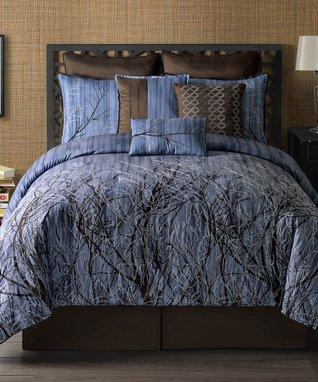 Trinity Printed Cotton Comforter Set
