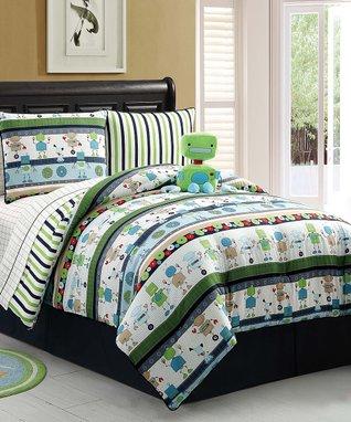 Robbie Robot Comforter Set