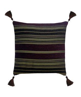 Chocolate & Ivory Lisbon Reversible Comforter