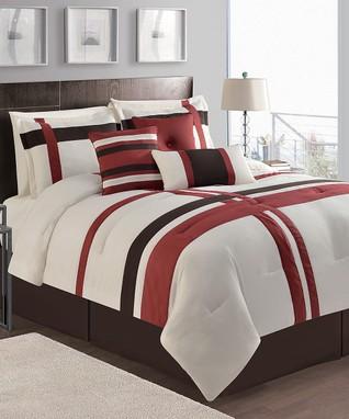 Plum Athena Cotton Comforter Set