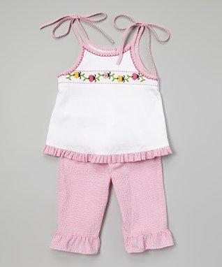 Green Smocked Elephant Bishop Dress - Infant, Toddler & Girls