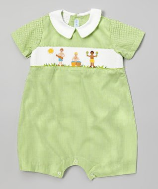 Vive La Fête Smocked Andy Gown - Infant