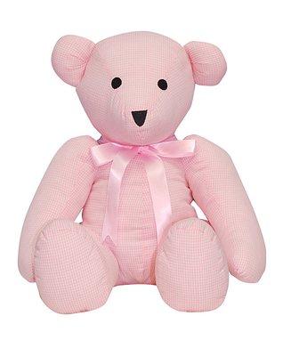 Vive La Fête Pink Smocked Geometric Bishop Dress - Infant, Toddler & Girls
