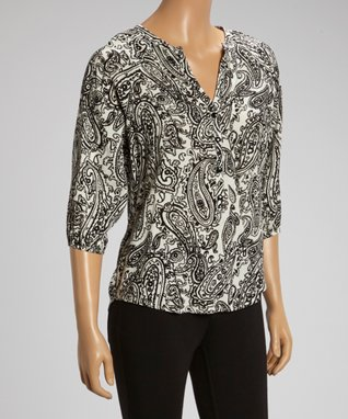 Brown Embroidered Tunic