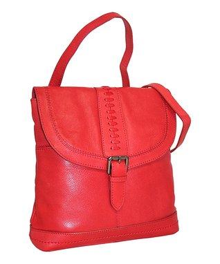Nino Bossi Handbags Red Convertible Backpack