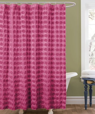Pink Twinkle Shower Curtain